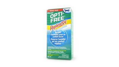Optifree Replenish Travelpack 90ml
